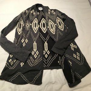 Lucky Brand Tribal Cardigan